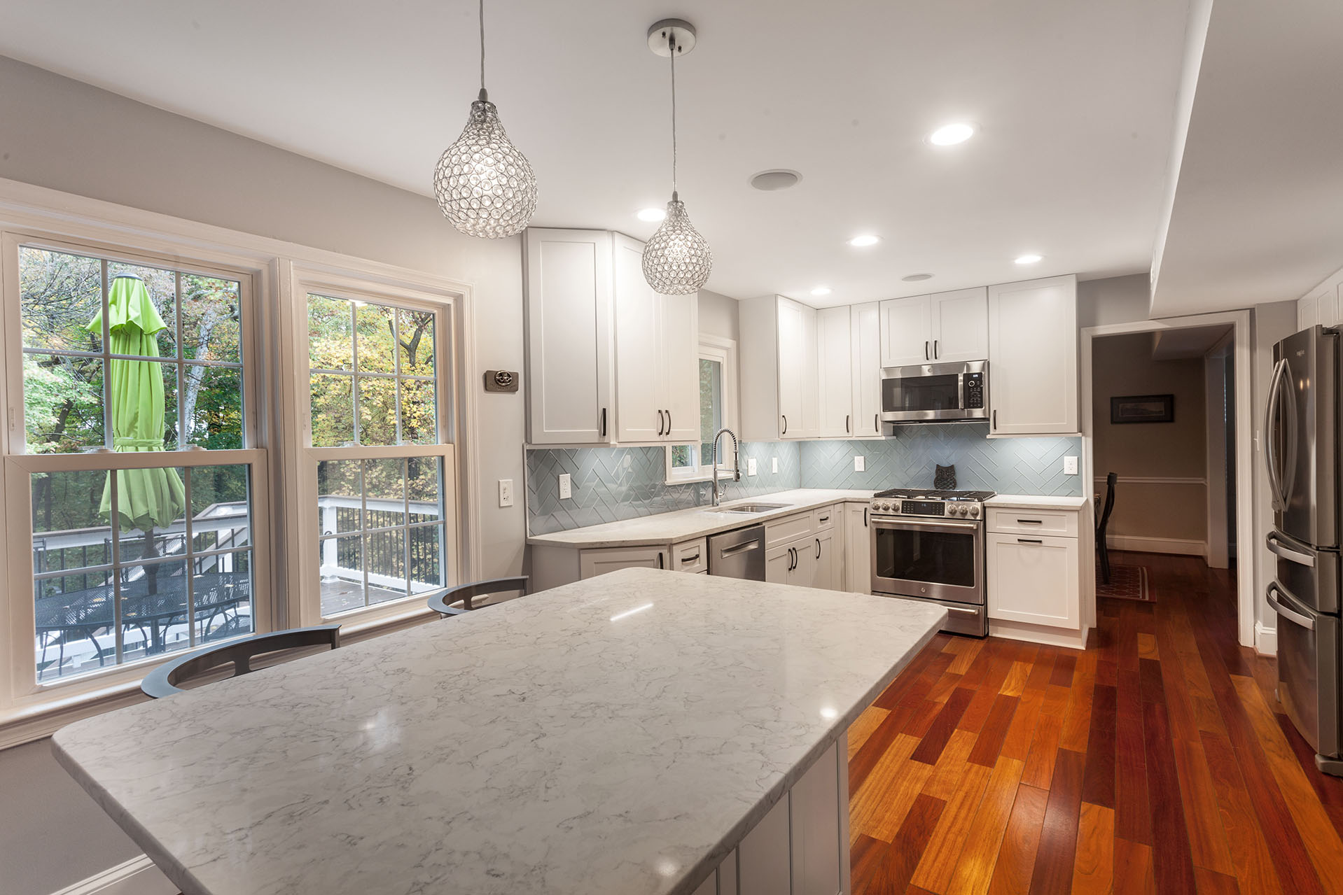 Transitional Kitchen Remodeling In Alexandria Va Solid