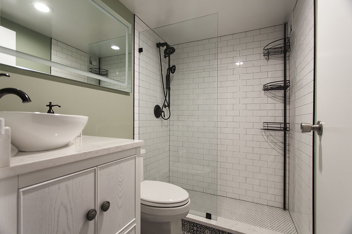 Small Bathroom Remodeling in Alexandria, VA - Solid ...