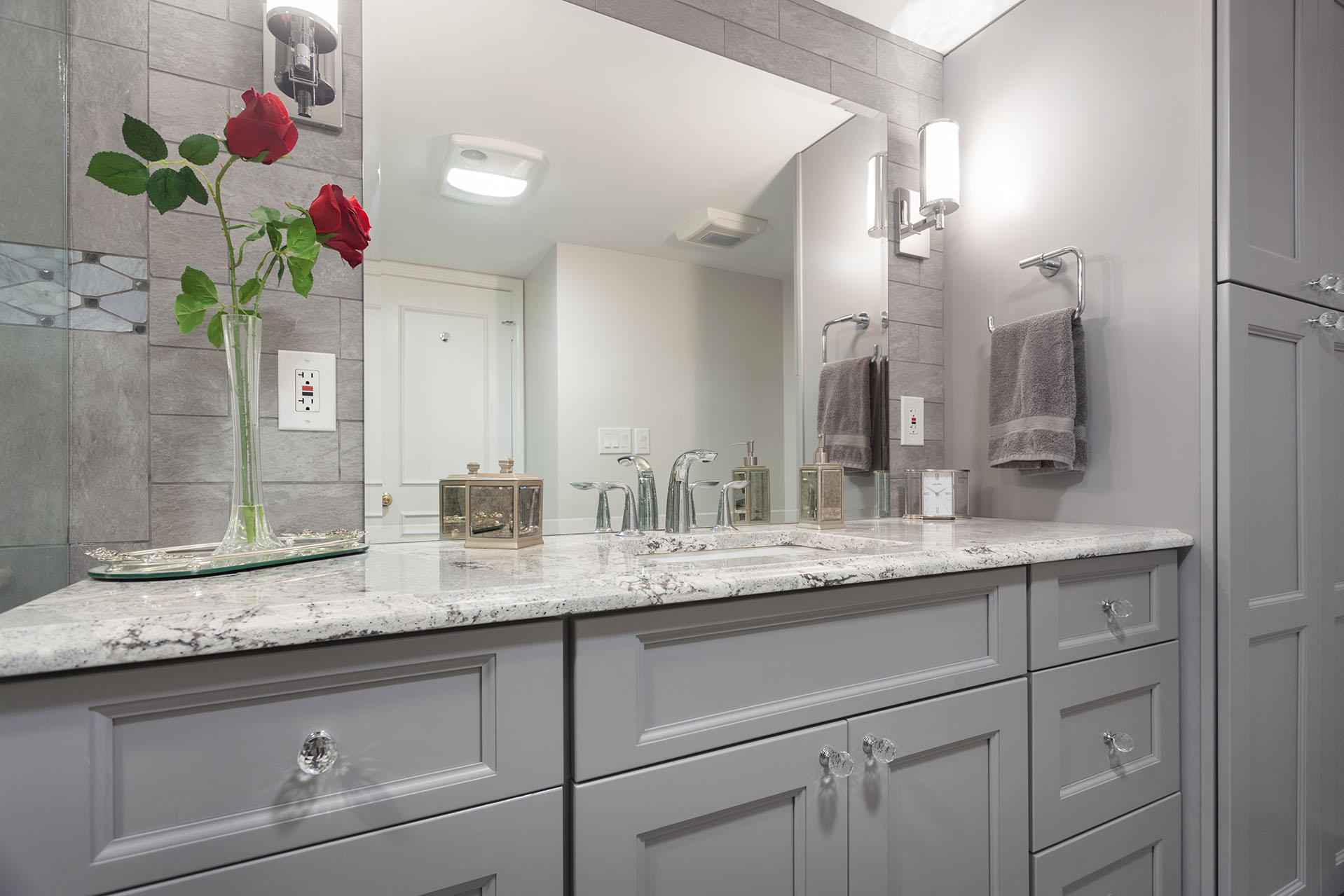 Transitional bathroom remodeling in old town alexandria - Bathroom remodeling alexandria va ...